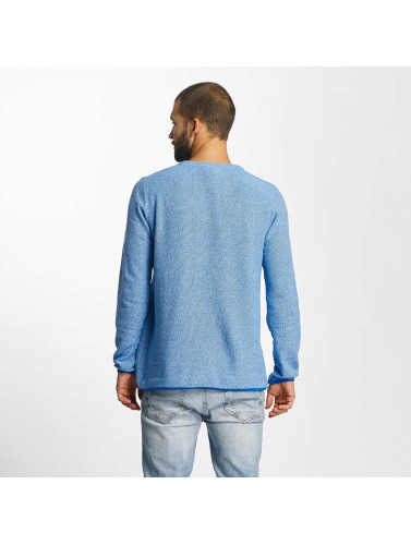 Bench Hombres Jersey Structured in azul