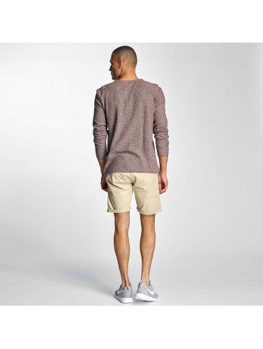 Bench Hombres Jersey Knit in rojo