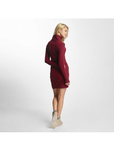 Bench Damen Kleid Slim Funnel in rot