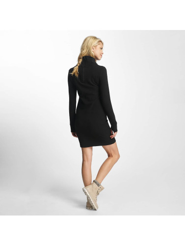 Bench Ladies Dress Slim Funnel In Black
