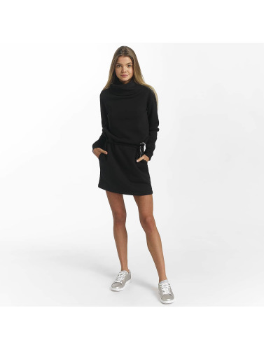 Bench Damen Kleid Funnel in schwarz