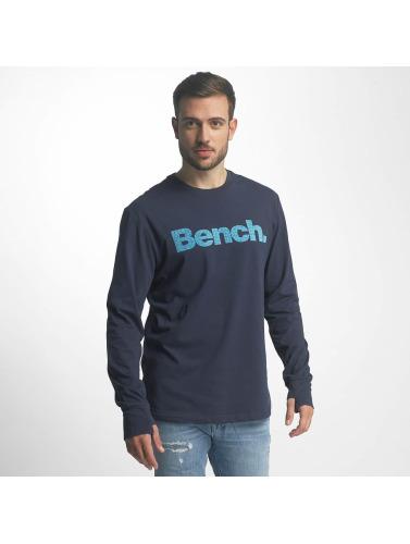 Bench Herren Longsleeve Logo in blau