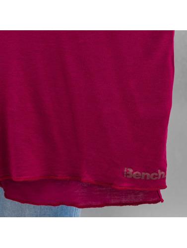 Bench Damen Longsleeve Performance Addendum Oversize in rot