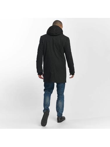 Bench Herren Mantel Wool in grau
