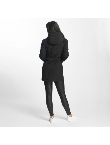 Bench Damen Mantel Core Slim Mix in schwarz