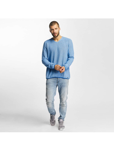 Bench Herren Pullover Structured in blau