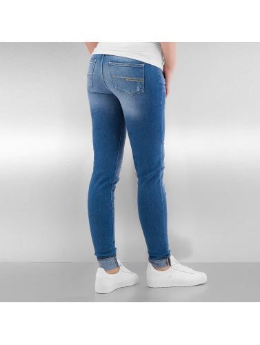 Bench Damen Skinny Jeans Rip And Repair in blau