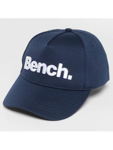 Bench Snapback Cap Logo in blau