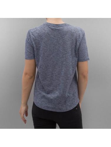 Bench Damen T-Shirt Sequin Embroidery in blau
