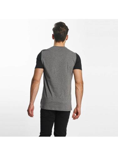 Bench Herren T-Shirt Logo in grau