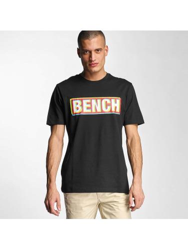 Bench Herren T-Shirt Logo in schwarz