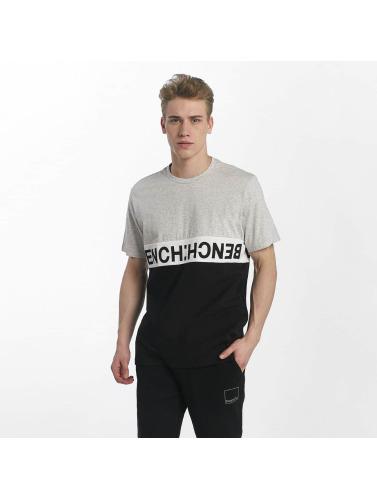 Bench Herren T-Shirt Colorblock Tee in schwarz