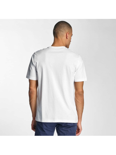 Bench Herren T-Shirt Logo in weiß