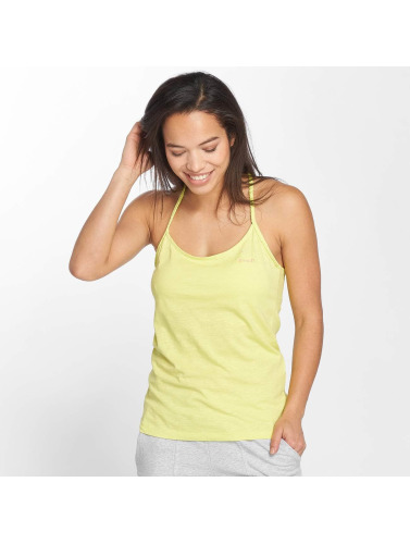 Tops amarillo Mujeres Tank Bench in Life zTqEdw1