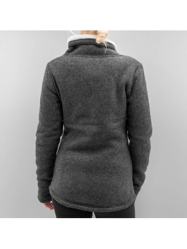 Bench Ladies Transition Jacket In Gray Forsee