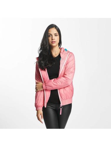 Bench Damen Übergangsjacke Light Padded in rosa