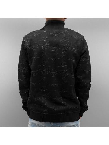Bench Herren Übergangsjacke Separate Knit in schwarz