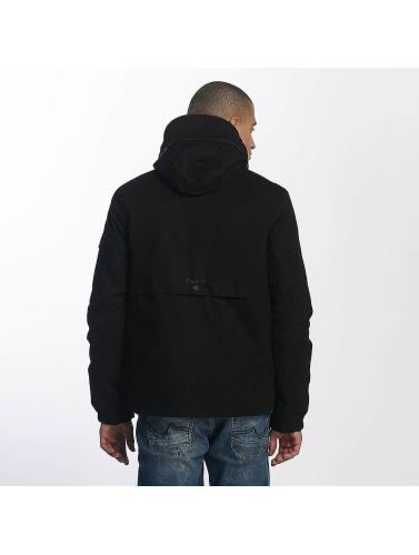 Bench Herren Übergangsjacke Easy Cotton Mix in schwarz