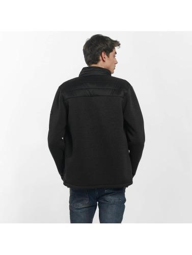 Bench Herren Übergangsjacke Fabric Mix in schwarz
