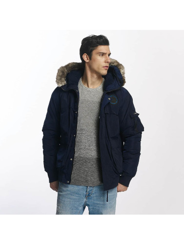 Bench Herren Winterjacke Nomens in blau