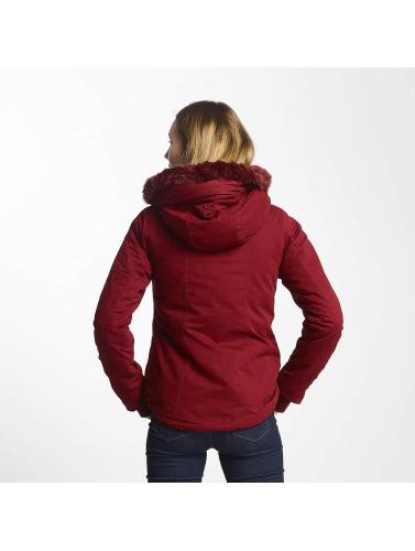 Bench Damen Winterjacke Asymmetric Functional in rot