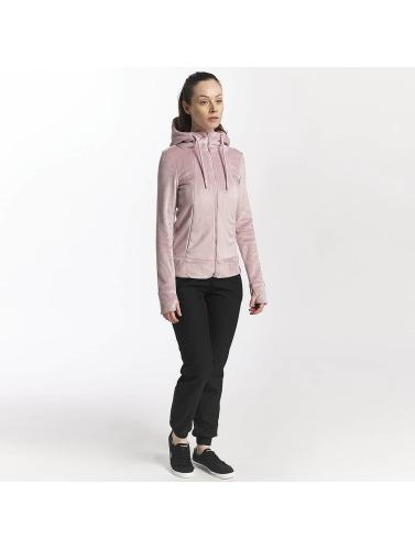 Bench Damen Zip Hoodie Life in rosa
