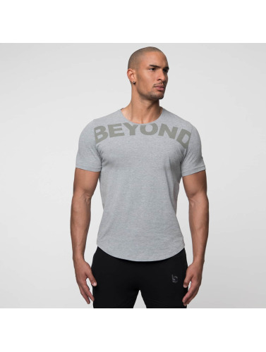 Beyond Limits Hombres Camiseta League in gris