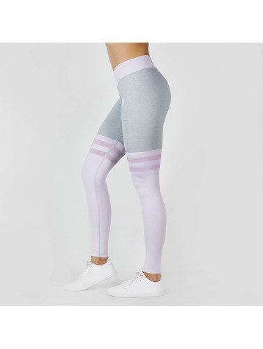 Beyond Limits Damen Legging Overknee in grau