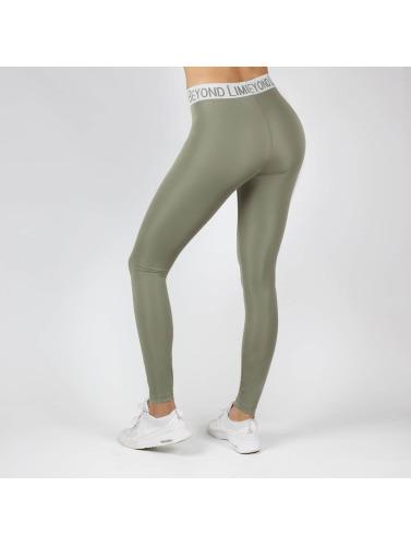 Beyond Limits Damen Legging Flex in khaki