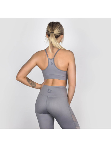 Beyond Limits Mujeres Sujetador desportivo Triangle in gris