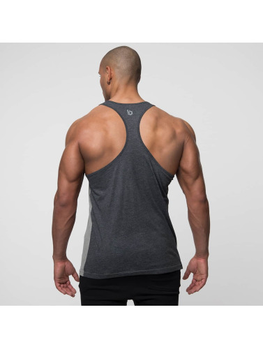 Beyond Limits Hombres Tank Tops Selected Stringer in gris