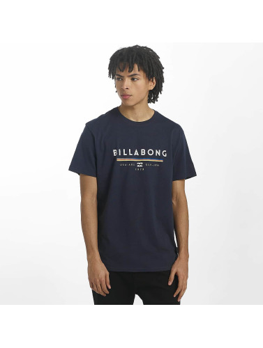 Billabong Hombres Camiseta Unity in azul
