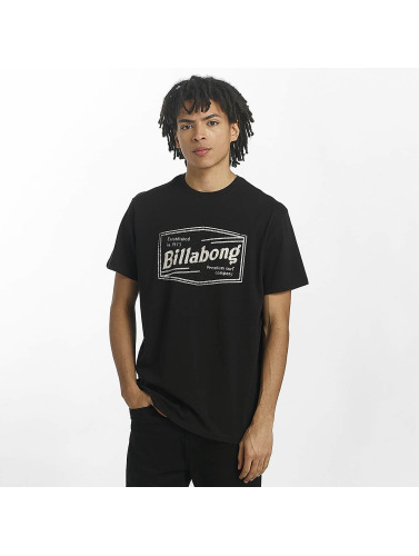 Billabong Hombres Camiseta Labrea in negro