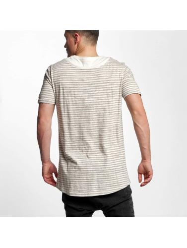 Black Kaviar Hombres Camiseta Skokie in beis