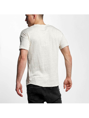 Black Kaviar Hombres Camiseta Sierra in beis
