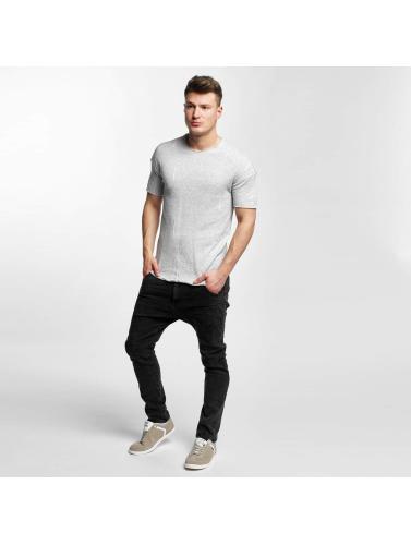 Black Kaviar Hombres Camiseta Sierra in gris