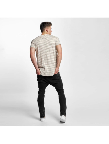 Black Kaviar Herren T-Shirt Stanwood in beige