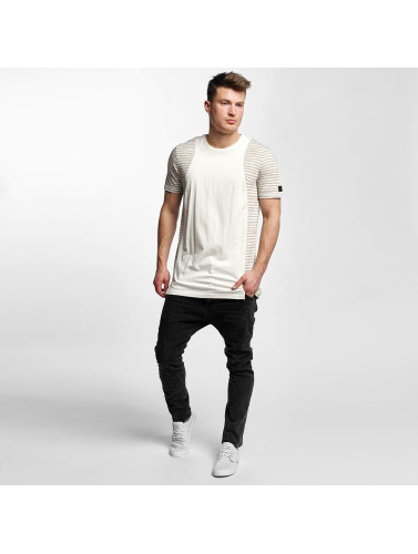 Black Kaviar Herren T-Shirt Skokie in beige