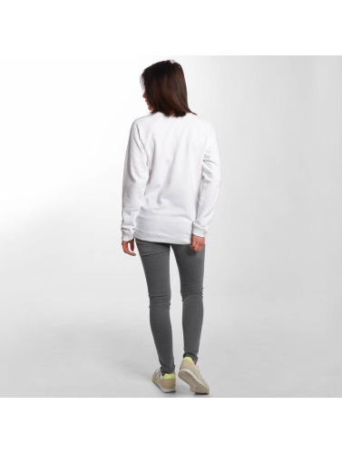 Blend She Mujeres Jersey Malla L in blanco