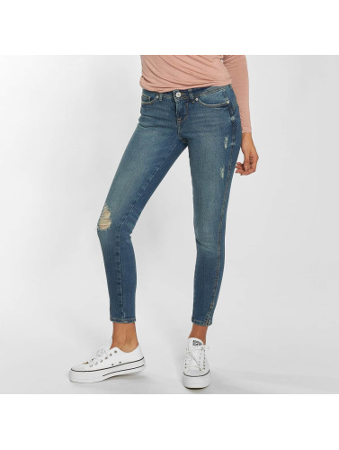 Blend She Damen Skinny Jeans Nova Saran in blau