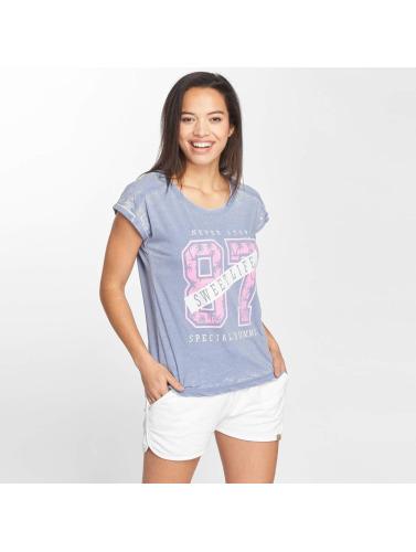 Blend She Damen T-Shirt Sweet R in blau
