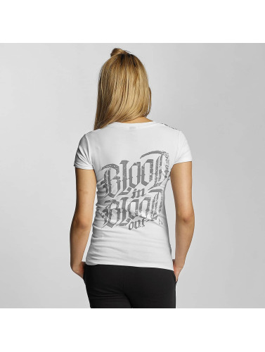 Blood In Blood Out Mujeres Camiseta Bandana in blanco