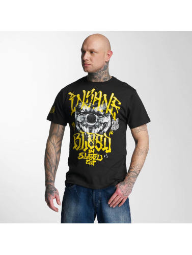Blood In Blood Out Hombres Camiseta Yellow Harlekin in negro