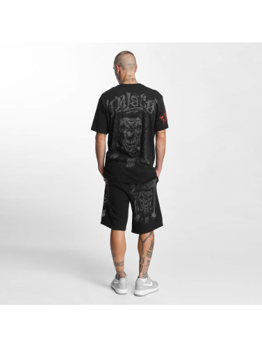 Blood In Blood Out Hombres Camiseta Loco in negro