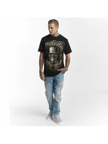 Blood In Blood Out Hombres Camiseta Infernal in negro