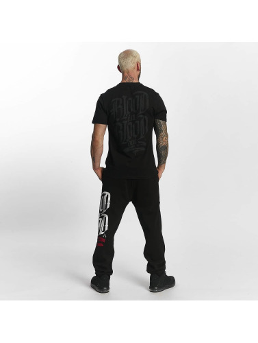 Blood In Blood Out Hombres Camiseta Escudo in negro