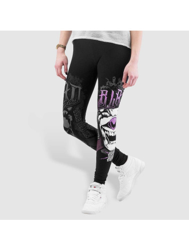 Blood In Blood Out Damen Legging Blood Harlekin Insane in schwarz