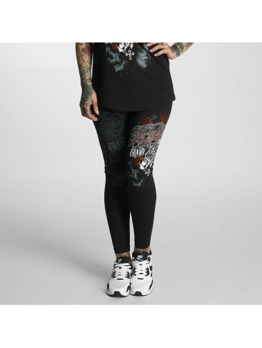 Blood In Blood Out Damen Legging Manos Orando in schwarz