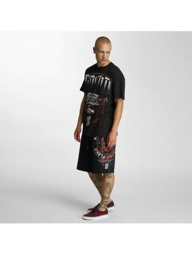 Blood In Blood Out Herren Shorts Plata O Plomo in schwarz