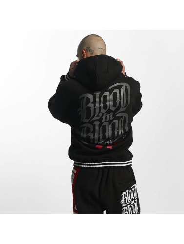 Blood In Blood Out Hombres Sudadera Logo in negro